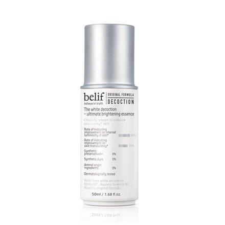 Belif The White Decoction - Ultimate Brightening Sheet Mask 5pcs box 135g