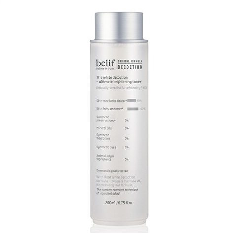 Belif The White Decoction - Ultimate Brightening Toner 200ml korean cosmetic skincare product online shop malaysia indonesa singapore