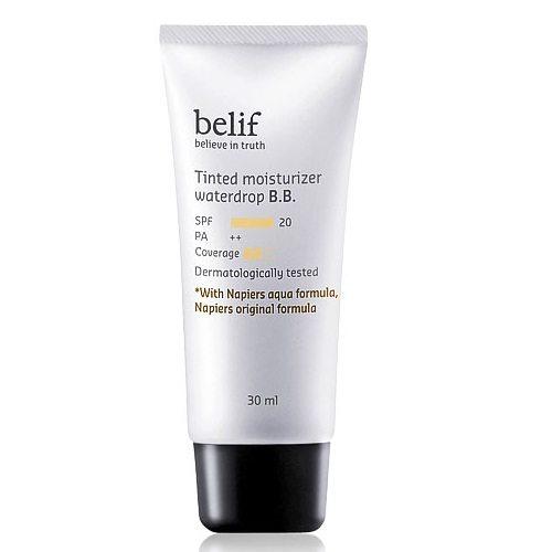 Belif Tinted Moisturizer Water Drop BB SPF 20 PA++ 30ml Korean cosmetic makeup product online shop malaysia hong kong canada