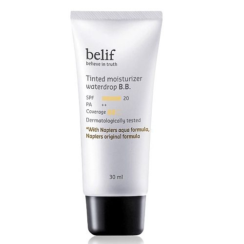 Belif Tinted Moisturizer Water Drop BB SPF 20 PA++ 30ml Korean cosmetic makeup product online shop malaysia hong kong canada