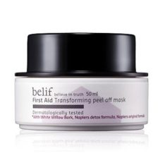 Belif Transforming Peel Off Mask 50ml korean cosmetic skincare product online shop malaysia indonesa singapore
