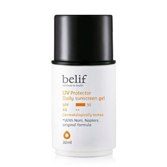 Belif UV Protector Daily Sunscreen Gel SPF 50+ PA++ 30ml Korean cosmetic makeup product online shop malaysia hong kong canada