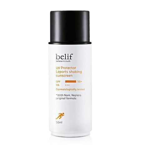Belif UV Protector Leports Shaking Sunscreen SPF 50+ PA+++ 50ml Korean cosmetic makeup product online shop malaysia hong kong canada