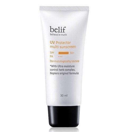 Belif UV Protector Multi Sunscreen SPF50+ PA+++ 30ml Korean cosmetic makeup product online shop malaysia hong kong canada