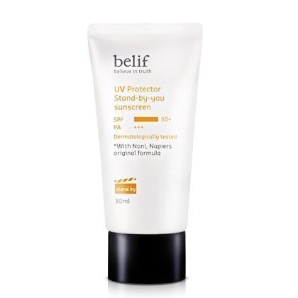 Belif UV Protector Stand by you Sunscreen SPF 50+ PA+++ 30ml Korean cosmetic makeup product online shop malaysia hong kong canada