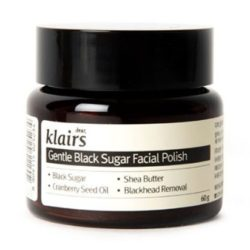 Klairs Gentle Black Sugar Facial Polish 60ml korean cosmetic skincare cleanser product  online shop malaysia  japan taiwan