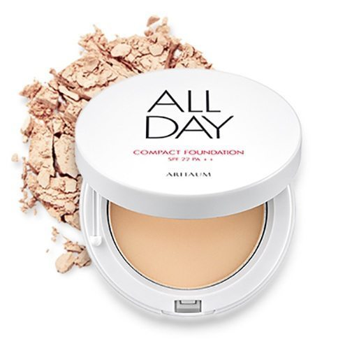ARITAUM All-day Compact Foundation SPF 22 PA++ 11g korean cosmetic makeup product online shop malaysia italy taiwan