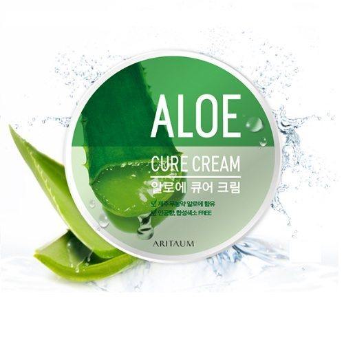 ARITAUM Aloe Cure Cream 30g korean cosmetic skincare product online shop malaysia indonesia singapore