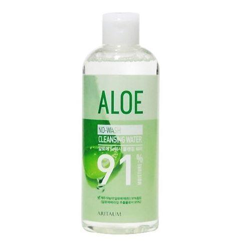 ARITAUM Aloe No Wash Cleanging Water 91percentage 300ml korean cosmetic skincare cleanser product online shop malaysia turkey macau