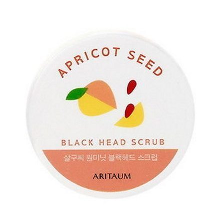ARITAUM Apricot Seed Blackhead Scrub 30g korean cosmetic skincare cleanser product online shop malaysia turkey macau