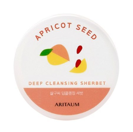 ARITAUM Apricot Seed Deep Cleansing Sherbet 100ml korean cosmetic skincare cleanser product online shop malaysia turkey macau