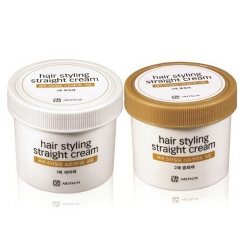 ARITAUM Hair Styling Straight Cream 100ml korean cosmetic body and hair product online shop malaysia Singapore Brunei