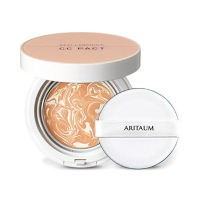 ARITAUM Real Ampoule CC Pact SPF 50+ PA+++ 15g + 15g korean cosmetic makeup product online shop malaysia italy taiwan