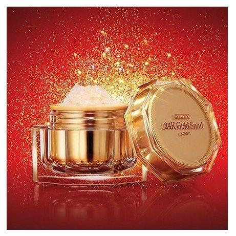 ARITAUM The Luxury 24K Gold Snail Cream 50ml korean cosmetic skincare product online shop malaysia indonesia singapore