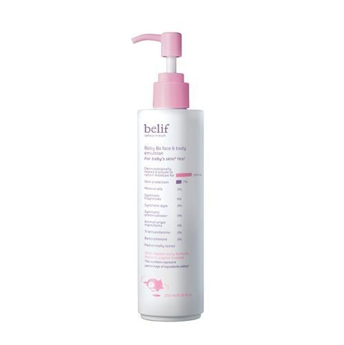 Belif Baby Bo Face and Body Emulsion 250ml korean cosmetic baby skincare product  online shop malaysia  cambodia spain