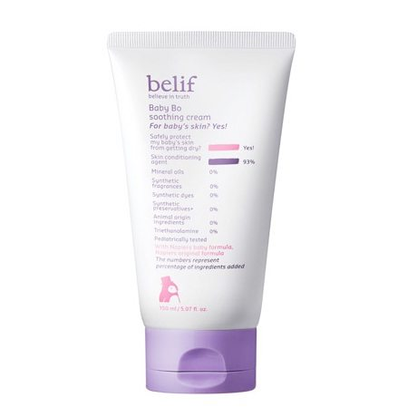 Belif Baby Bo  Soothing Cream 150ml  korean cosmetic baby skincare product  online shop malaysia  cambodia spain