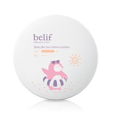 Belif Baby Bo Sun Metal Cushion 15g  korean cosmetic baby skincare product  online shop malaysia  cambodia spain