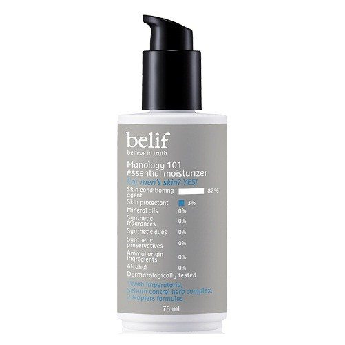 Belif Manology 101 Essential Moisturizer 75ml korean cosmetic men skincare product online shop malaysia  portugal italy
