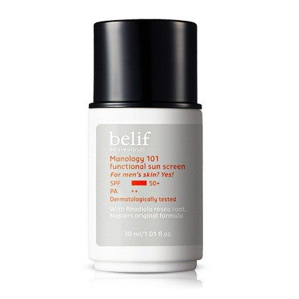 Belif Manology 101 Functional Sun Screen 30ml korean cosmetic men skincare product online shop malaysia portugal italy