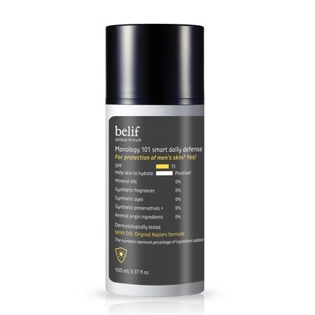 Belif Manology 101 Smart Daily Defense SPF 15 PA++ 100ml korean cosmetic men skincare product online shop malaysia portugal italy