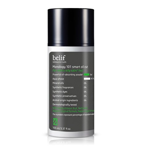 Belif Manology 101 Smart Oil Cut 100ml korean cosmetic men skincare product online shop malaysia portugal italy