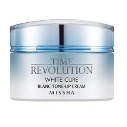 Missha Time Revolution White Cure Blanc Tone Up Cream 50ml korean cosmetic skincare product online shop malaysia greenland sweden
