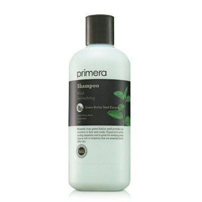 primera Mint Refreshing Shampoo 300ml korean cosmetic body hair product online shop malaysia singapore argentina