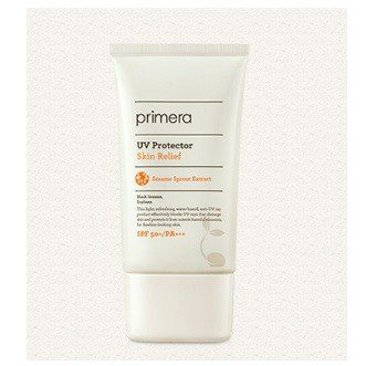 primera Skin Relief UV Protector SPF 50+ PA+++ 50g korean cosmetic makeup product online shop malaysia denmark brunei