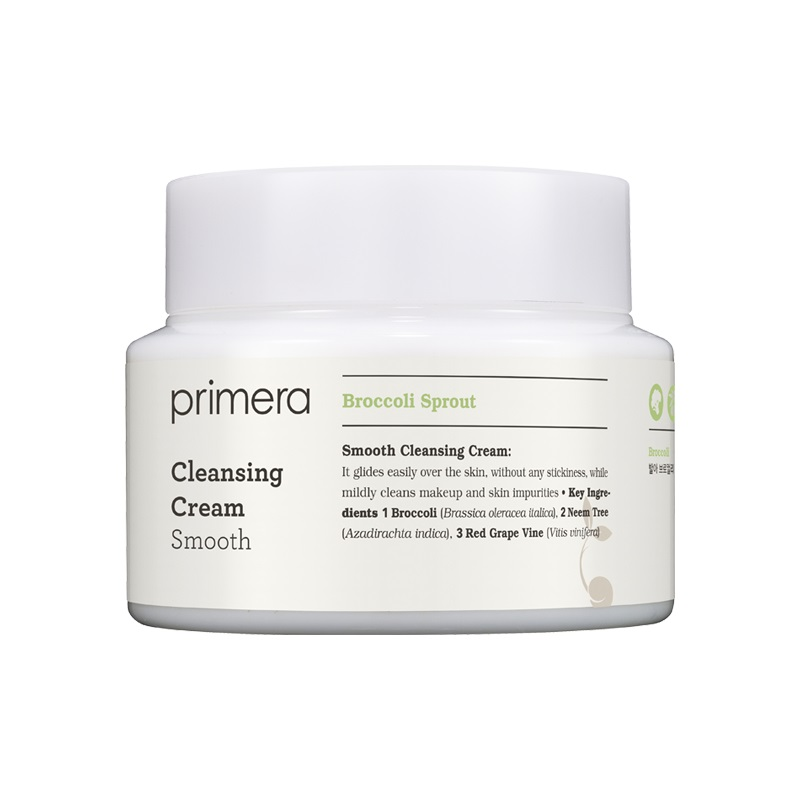 primera Smooth Cleansing Cream Broccoli Sprout Greenland Sweden