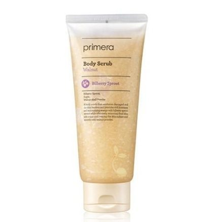 primera Walnut Body Scrub 200ml korean cosmetic body hair product online shop malaysia singapore argentina