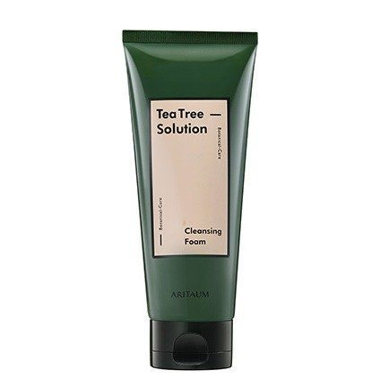 Aritaum Teatree Solution Cleansing Foam 150ml korean cosmetic skincare product online shop malaysia brunei germany