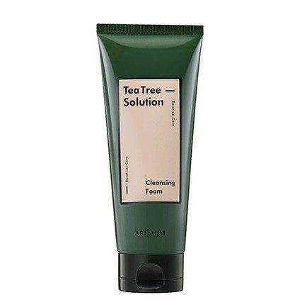 Aritaum Teatree Solution Cleansing Foam 150ml korean cosmetic skincare product online shop malaysia brunei germany