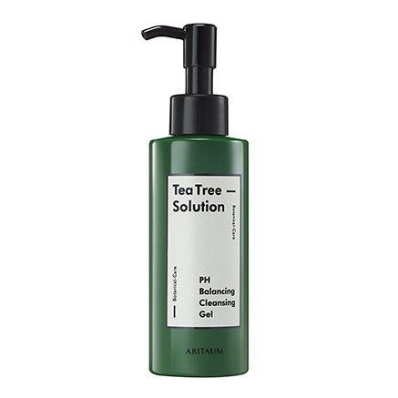 Aritaum Teatree Solution PH Cleansing Gel 150ml korean cosmetic skincare product online shop malaysia brunei germany