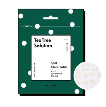 Aritaum Teatree Solution Spot Clear Patch 100g korean cosmetic skincare product online shop malaysia brunei germany