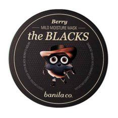 Banila Co The Blacks Berry Mild Moisture Mask 50ml korean cosmetic makeup product online shop malaysia estonia vietnam