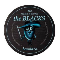Banila Co The Blacks Ice Cooling Clay Mask 50ml korean cosmetic makeup product online shop malaysia estonia vietnam1