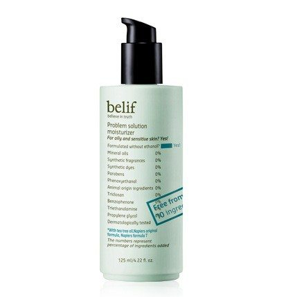 Belif Problem Solution Moisturizer 125ml korean cosmetic skincare product online shop malaysia singapore canada