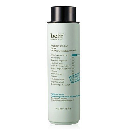 Belif Problem Solution Toner 200ml korean cosmetic skincare product online shop malaysia singapore canada