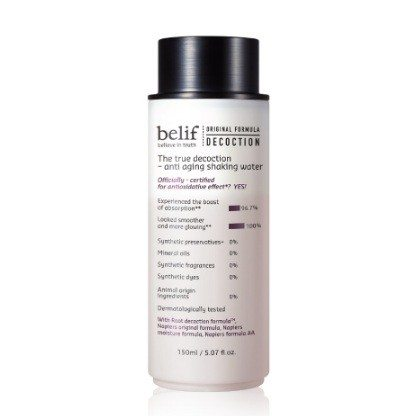 Belif The true Decoction Anti Aging Shaking Water 150ml korean cosmetic skincare product online shop malaysia singapore canada