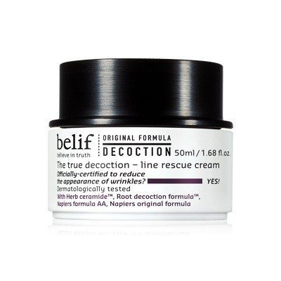 Belif The true Decoction Line Rescue Cream 50ml korean cosmetic skincare product online shop malaysia singapore canada