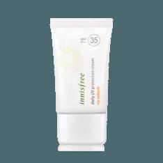 Innisfree Daily UV Protection Cream No Sebum SPF 35 PA+++ 50ml korean cosmetic skincare shop malaysia singapore indonesia