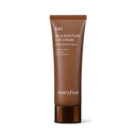 Innisfree Oat Mild Moisture Sun Cream Malaysia Japan China Singapore
