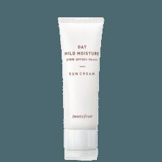 Innisfree Oat Mild Moisture Sun Cream SPF 50 PA+++ 40ml korean cosmetic skincare shop malaysia singapore indonesia