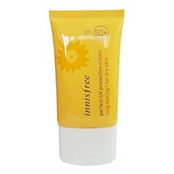 Innisfree Perfect UV Protection Cream Long Lasting SPF 50 PA+++ 50ml (dry skin) korean cosmetic skincare shop malaysia singapore indonesia