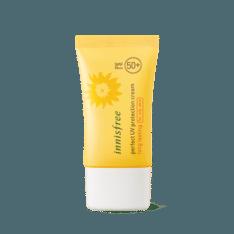 Innisfree Perfect UV Protection Cream Long Lasting SPF 50 PA+++ 50ml (oily skin) korean cosmetic skincare shop malaysia singapore indonesia