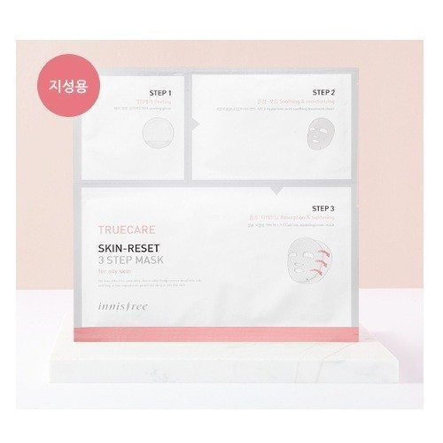 Innisfree Truecare Skin Reset 3Step Mask korean cosmetic skincare product online shop malaysia england cambodia