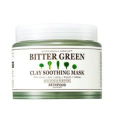 Skinfood Bitter Green Clay Soothing Mask 145ml korean cosmetic skincare product online shop malaysia china india