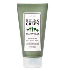 Skinfood Bitter Green Clay to Foam 170ml korean cosmetic skincare cleanser product online shop malaysia oman yemen