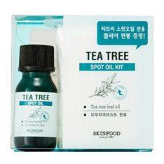 Skinfood Tea Tree Spot Oil Kit 10ml korean cosmetic skincare product online shop malaysia china india