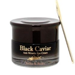 Holika Holika Black Caviar Anti Wrinkle Eye Cream  korean cosmetic skincare product online shop malaysia  ireland peru